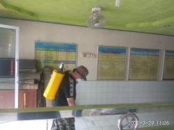 FPI dan PP Semprotkan Disinfektan Puluhan Masjid di Kuansing