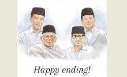 Jokowi Tunjuk Sandiaga Jadi Menteri, Netizen: Happy Ending