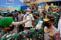 Riau Jangan Lengah Pesan Panglima TNI dan Kapolri saat Kunker