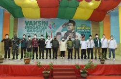 Bupati Hadiri Vaksinasi Indonesia Bangkit