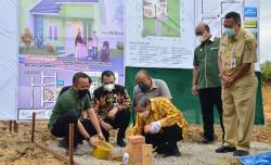 Wujudkan Mimpi Buruh Sawit di Riau, Program 1.000 Rumah Mulai Dibangun