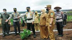 Kapolda Puji Kampung Tangguh Polres Bengkalis