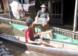 Melalui YABB, Gojek Bantu Korban Banjir Kalimantan Selatan
