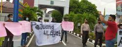 Minta Keadilan terhadap 5 Pejuang Ulayat, Warga Lakukan Aksi Damai