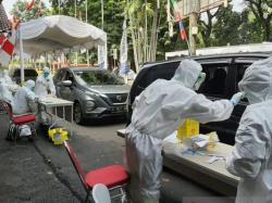 Rapid Test di Kota Hujan Hasilkan 3 Positif Corona