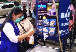 Tjepta Sitohang Bantu Warga Terdampak Corona