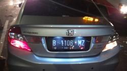 Tragis, 5 Pekerja Tol Tewas Ditabrak Honda Civic