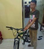 Pencuri Sepeda Diringkus Polisi