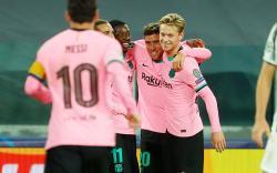 Tanpa Ronaldo, Juventus Dipermalukan Barcelona