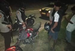Sepeda Motor Pembalap Liar Diamankan