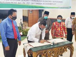 Pemkab Siak-PTPN V Capai Kesepakatan Pembayaran Prefinancing Rp33,2 M