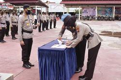 Firman Fadhila Jabat Kasat Reskrim Polres Inhil