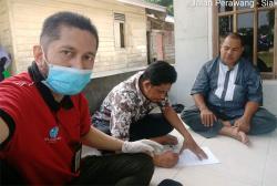 Gerak cepat, Jasa Raharja Riau Serahkan Santunan di hari libur