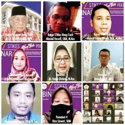 Webinar Nasional Prodi S1 Kesmas STIKes Hang Tuah Pekanbaru