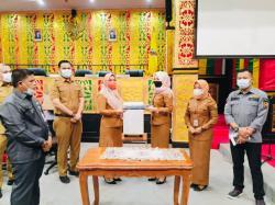 Sekretariat DPRD Terbaik Pengelolaan dan Penataan Arsip
