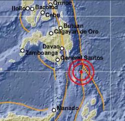 Sulawesi Utara Diguncang Gempa M7,1