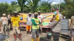 Polres Inhu Bantu Sembako Warga Tidak Terdata BLT