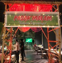 Gemerlap Pasar Malam di The Zuri Hotel Pekanbaru