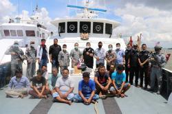 Bakamla Tangkap Dua Kapal Ikan Asing