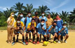 Melalui Sepak Bola, Pertagas Dukung Pemberdayaan Pemuda Rohil