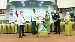 PT TGI Salurkan Bantuan untuk Program Enam Juta Masker