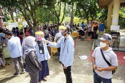 Penyaluran BST Terapkan Protokol Kesehatan