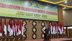 Resmi Dilantik, Achizul Hendri Nahkodai KADIN Pekanbaru