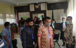 Enam Terdakwa Pidana Pilkada Inhu Tinggal Jalani Putusan Hakim