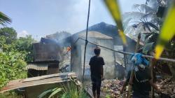 Ditinggal Kerja, Rumah Waga Tembilahan Hulu Terbakar