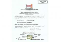 Andi Putra-Suhardiman Terima SK Hanura