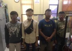 4 Pelaku Pungli di Pasar Baru Panam Ditangkap