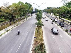 Volume Kendaraan Dalam Kota Menurun