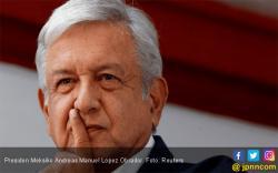 Presiden Meksiko Potong Gajinya Sendiri
