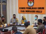 KPU Inhu Tetapkan Lima Paslon Bupati dan Wakil di Pilkada 2020