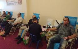 Meriahkan HUT Pekanbaru, Grand Elite Hotel Gelar Donor Darah
