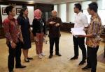 Jumpai Teten, Staf Milenial Presiden Diskusi soal Daya Saing UMKM