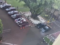 Terduga Teroris Diduga Perempuan Tewas di Parkiran Mabes Polri