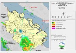 Malam Minggu, Lima Daerah di Riau Ini Berpotensi Hujan Lebat