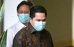 KPK Bersama Erick Thohir Bahas Pemulihan Ekonomi Nasional