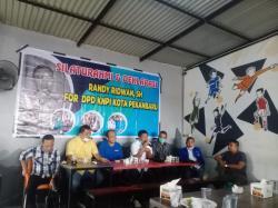Randy Ridwan Deklarasi Maju sebagai Calon Ketua DPD KNPI Pekanbaru