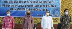 Andi Rachman Ingatkan Sinergi Pemda dan BSN Dukung IKM di Dumai
