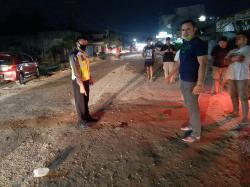 Diduga Tabrak Lari, Supir Hampir Diamuk Massa di Duri