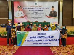 BP Jamsotek Duri Sosialisasi Pengelolaan Keuangan Daerah