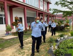 Kakanwilkum HAM Riau Sidak Bapas dan LPKA Pekanbaru