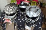 Helm Unik di Pameran Otomotif