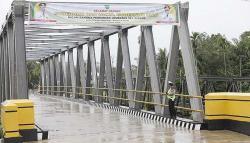 Jembatan Sei Siasam Kini Sudah Bisa Digunakan