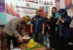 Polres Rayakan Rangkaian HUT Bhayangkara bersama PWI Siak