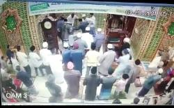 Terekam CCTV, Seorang Pria Pukul Imam Salat Subuh di Masjid