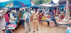 Kurangi Kasus Covid-19, Perketat Pasar Tradisional di Kuansing