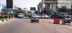 Tekan Mobilitas, Jalan Dalam Kota Ikut Disekat
